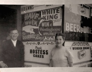 Kertstein Family in front of their store on Soto - Donated by the Kerstein Family - Photo by Herman Vasquez